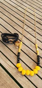 שרשרת ארוכה, שרשרת צהובה, שרשרת נוכחות, שרשרת אופנה, צמיד שחור, טבעת זהב, שרשרת שחורה, שרשרת אופנה, שרשרת זהב, מתנה, תכשיטים, צמיד