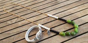 MFcollection Jewelry תכשיטים תכשיטי אופנה שרשרת צמיד טבעת עגילים שרשראות צמידים טבעות מתנה תכשיטים בפתח תקוה זהב כסף תליונים שרשרת זהב ירוק צמיד כסף לבן טבעת סברובסקי כסף