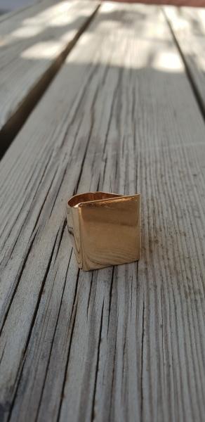 אופנה MFcollection, תכשיטים, תכשיטי אופנה, תכשיטים יפים, טבעת, טבעות, ריבוע, טבעת ריבוע, טבעת זהב יפה